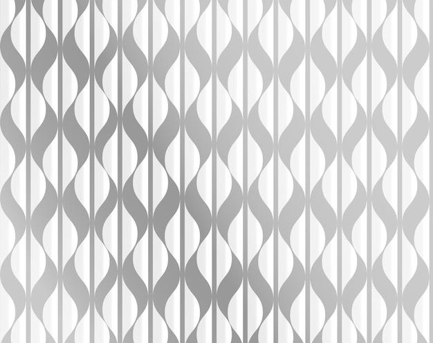 Geïsoleerd op zilveren en witte vectorillustratie als achtergrond
