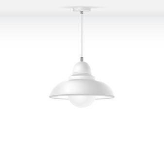 Geïsoleerde lamp