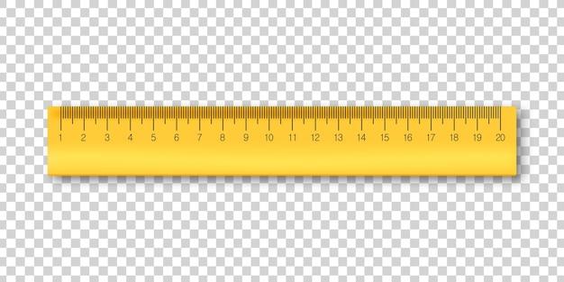 Geïsoleerde liniaal