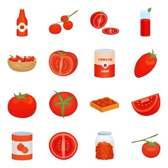 Geïsoleerde object van organische en voedsel logo. set van biologische en dieet set