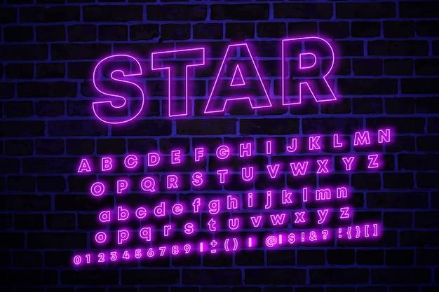 Geïsoleerde vector lettertype