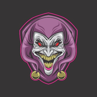 Gek clown-logo