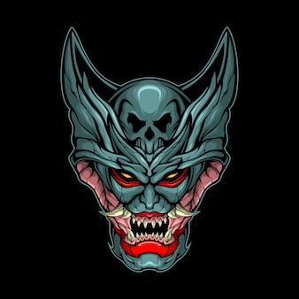 Gek monsterhoofd