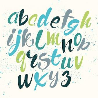 Gekleurd alfabet