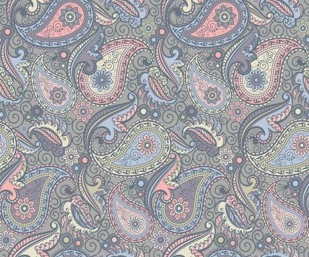 Gekleurd paisley patroon