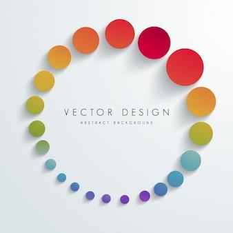 Gekleurde achtergrond ontwerp