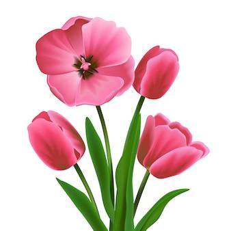 Gekleurde bloem design
