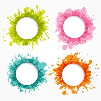 Gekleurde frames-collectie