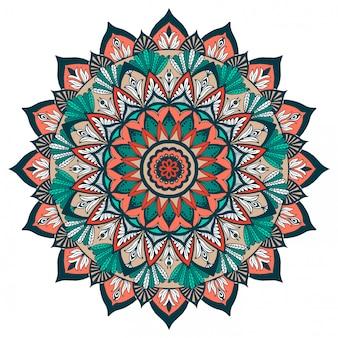 Gekleurde mandala