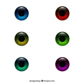 Gekleurde ogen