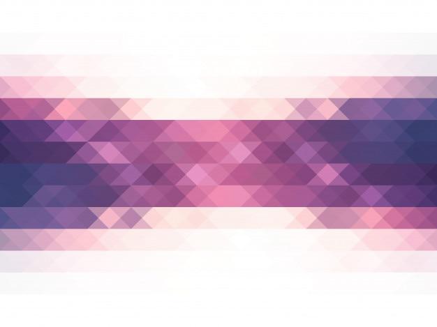 Gekleurde roze driehoeken