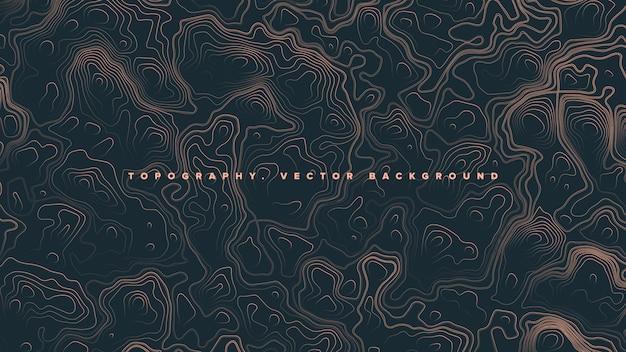 Gekleurde topografische contour kaart abstracte achtergrond