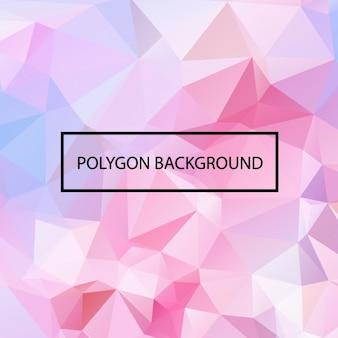 Gekleurde veelhoekige achtergrond ontwerp