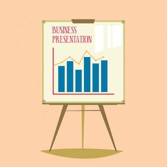 Gekleurde zakelijke presentatie