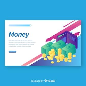 Geld-bestemmingspagina