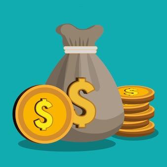 Geld concept