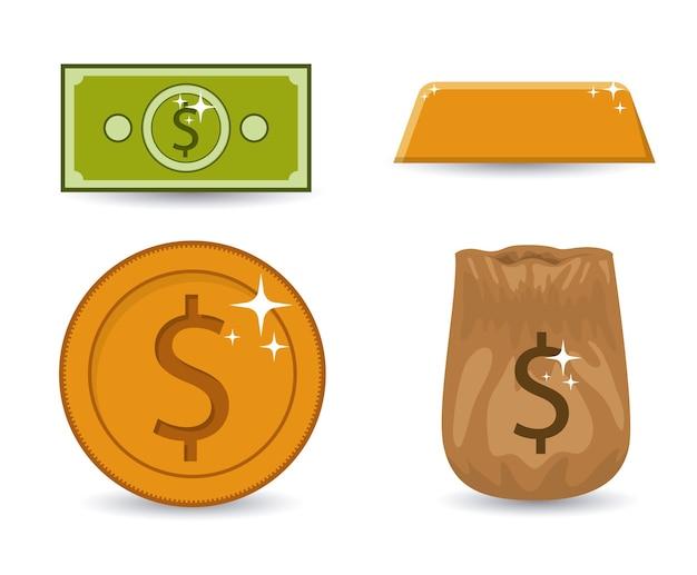 Geld digitaal ontwerp