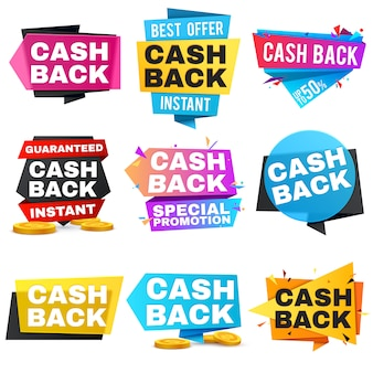 Geld geld terug labels