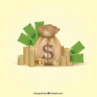 Geld illustratie