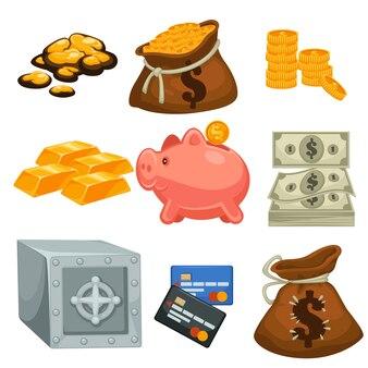 Geld in cah of creditcard spaargeld en borg