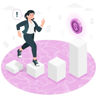 Geld motivatie concept illustratie