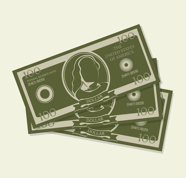 Geld ontwerp.