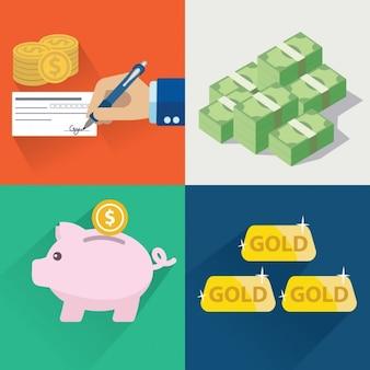 Geld ontwerpt collectie