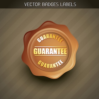 Geld terug garantie label