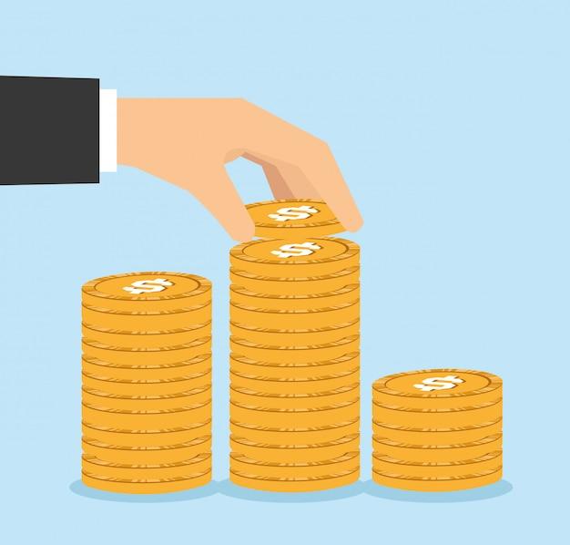 Geld vectorillustratie ontwerp