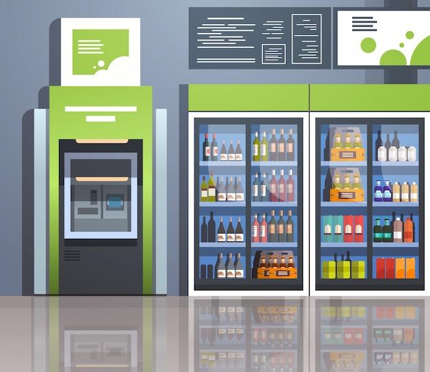 Geldautomaat met geldautomaat