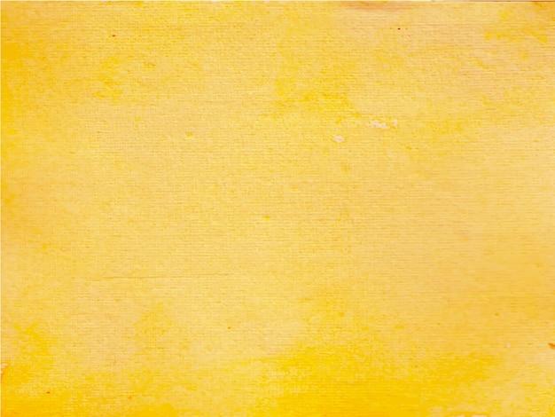 Gele abstracte aquarel textuur