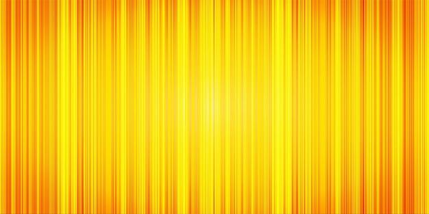 Gele abstracte streepachtergrond