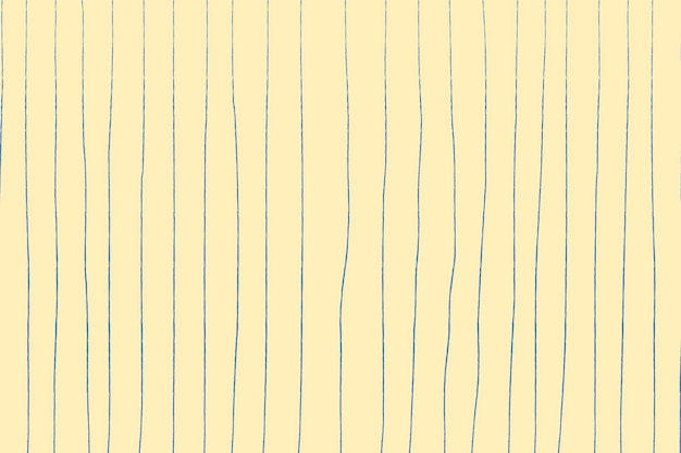 Gele achtergrond, doodle patroon, eenvoudig ontwerp vector