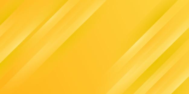 Gele achtergrond met kleurovergang strepen