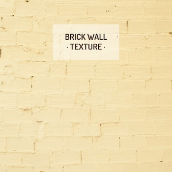Gele bakstenen muur textuur