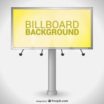 Gele billboard vector
