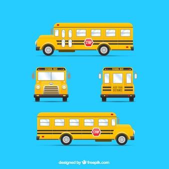 Gele bus
