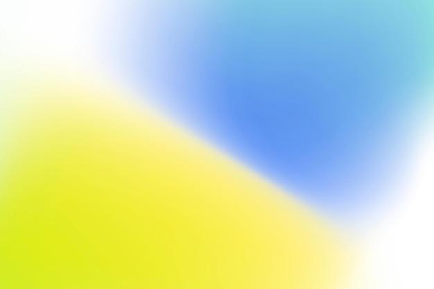 Gele en blauwe golfgradiënt achtergrond vector