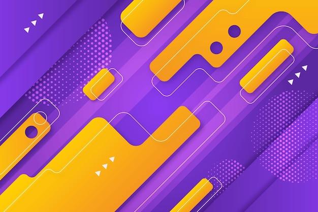 Gele en paarse achtergrond