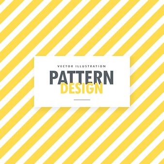 Gele en witte strepen vector achtergrond