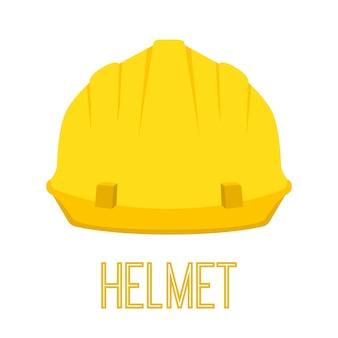 Gele helm