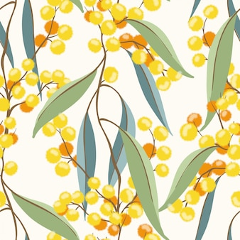 Gele lente planten