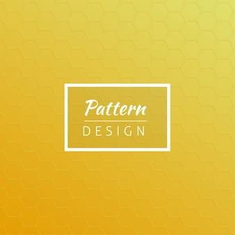 Gele ontwerp van het patroon