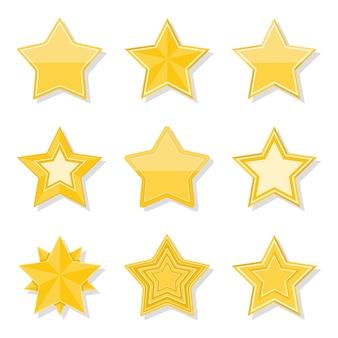 Gele sterren