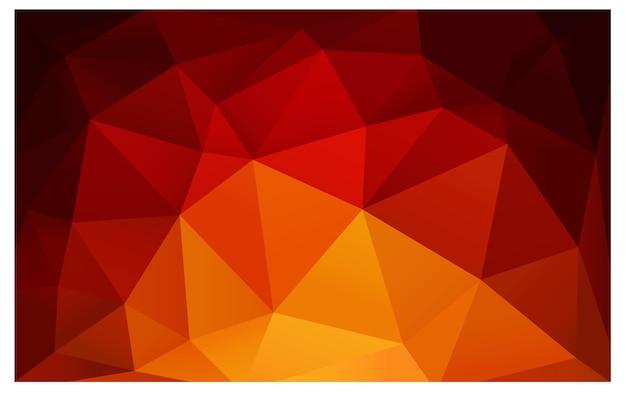 Gele vector moderne geometrische abstracte achtergrond