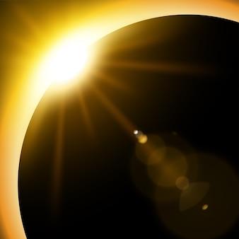 Gele zonsverduistering