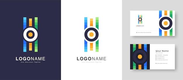 Geluidsgolf pictogrammen instellen muziek golven symbolen audio logo's sjabloon spraakequalizer met visitekaartje