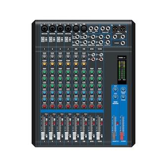 Geluidsmixer professionele audiomixer