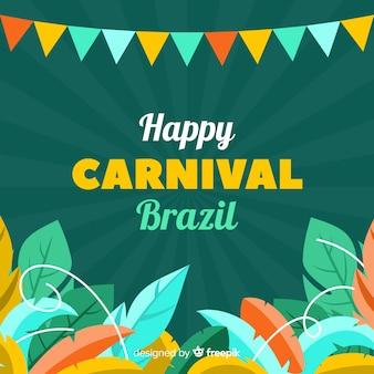 Gelukkig braziliaans carnaval