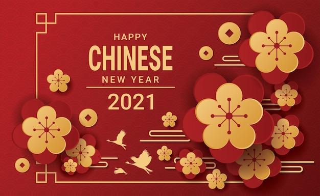 Gelukkig chinees nieuwjaar 2021.